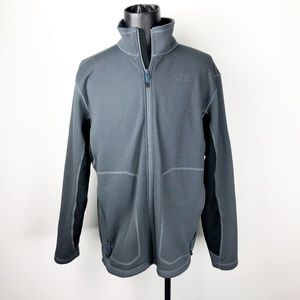 The North Face Men's Large Softshell Jacket Gray